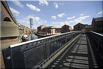 SJ8297 : Footbridge over the Bridgewater canal by David Fox