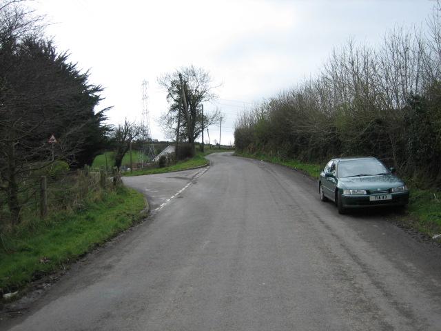 Mill Road West joins Ballycoan Road.