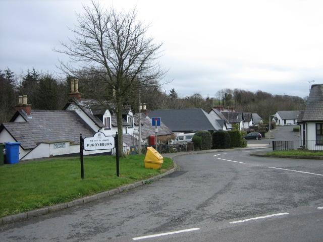 Purdysburn village.