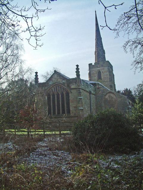 The church of St. Michael at Stretton-en-le-Field