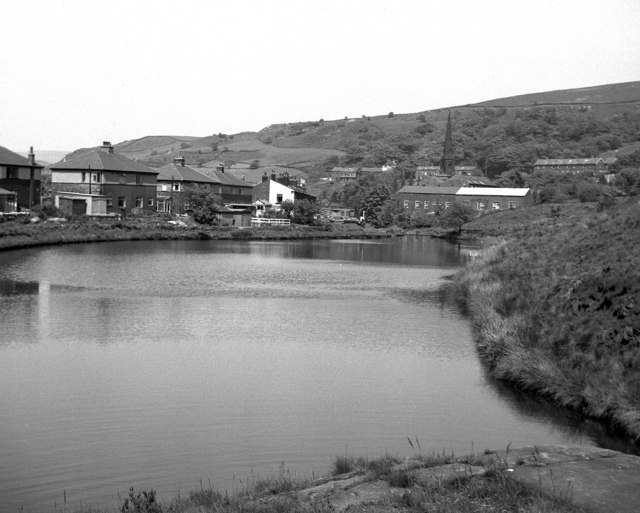 The Rochdale Canal at Walsden, Yorkshire