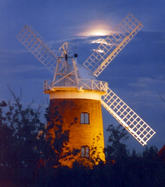 Caldecotte windmill