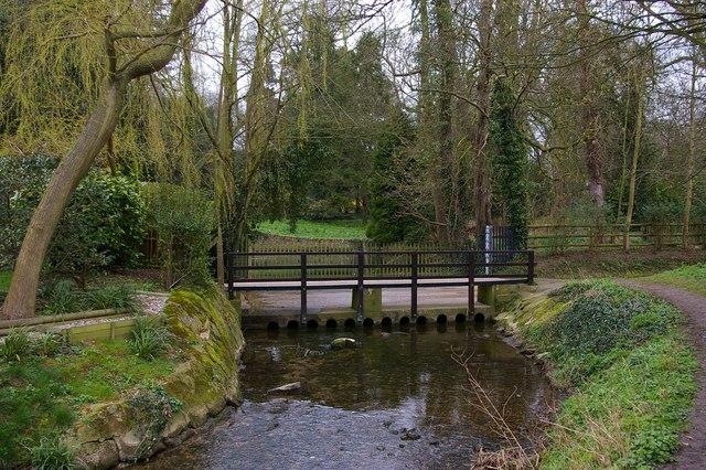 Ford near the mill, Linton, Cambridgeshire