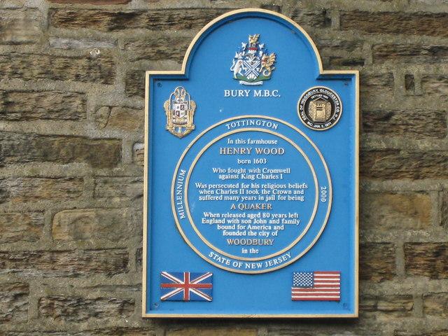 Henry Wood Millennium Plaque