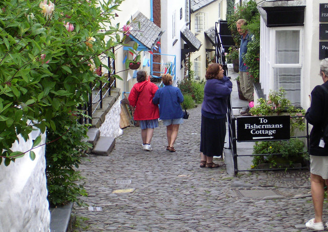 Strolling in Clovelly
