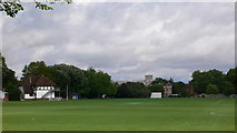 SU4828 : Winchester College playing fields 'Meads' by Herry Lawford