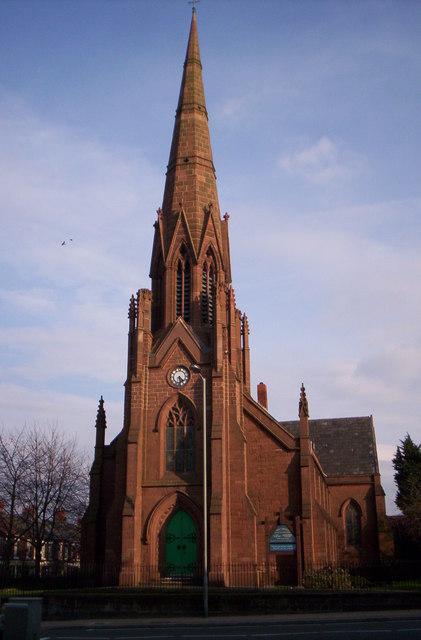 Holy Trinity Church, Walton Breck, Liverpool