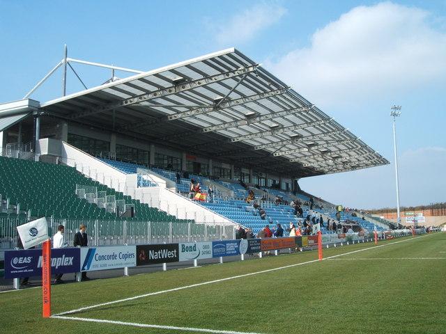 Exeter Chiefs Stadium, Sandy Park, Exeter