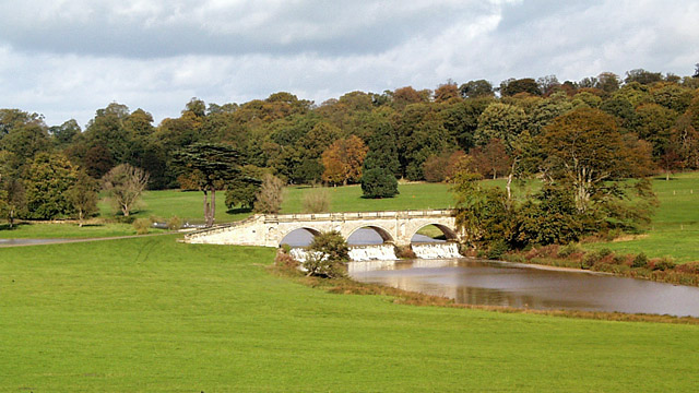 Kedleston Hall bridge
