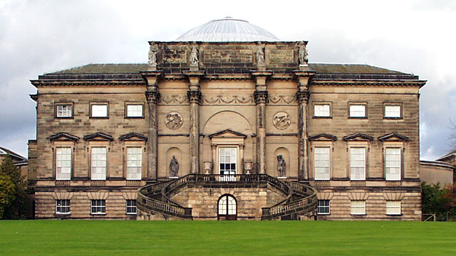 Kedleston Hall (rear view)