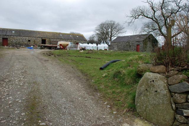 Buarth Betws Bach Farmyard