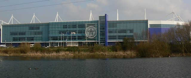 Leicester City's Walkers Stadium.