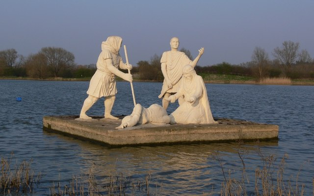 King Lear's Lake, Watermead Country Park Leicester.