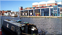 SK9771 : Brayford Pool, Lincoln by Peter Tarleton