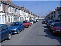 SU1585 : Beatrice Street, Swindon by Roger Cornfoot
