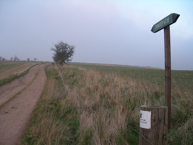 Footpath from Renton Barns to Bell Hill