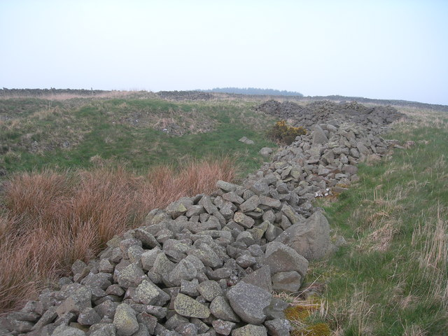 Ruins on Bell Hill