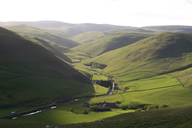 Barrowburn and Windyhaugh on the Upper Coquet