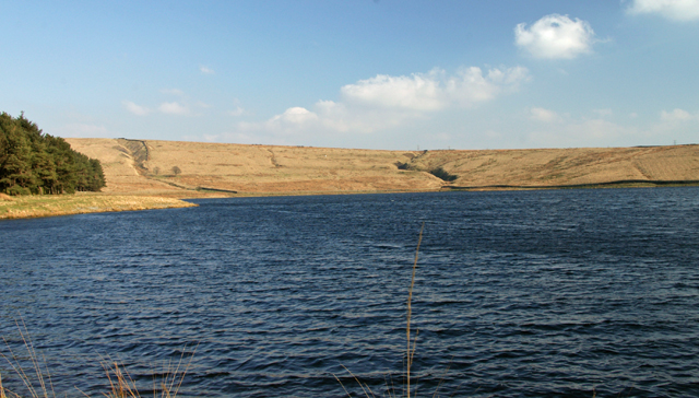 Clough Bottom reservoir