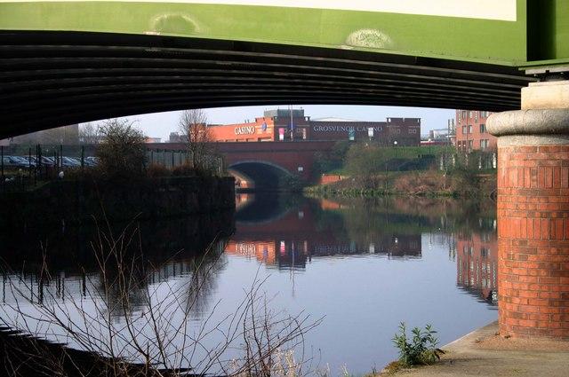 Bridges over the River Irwell