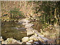 SD2297 : Stepping Stones, River Duddon by Michael Graham