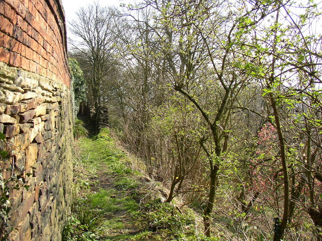 Footpath off Westgate, Clifton
