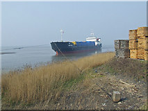 "TA0623 : ""Amur-2504"" Aground at Barrow Haven by David Wright"