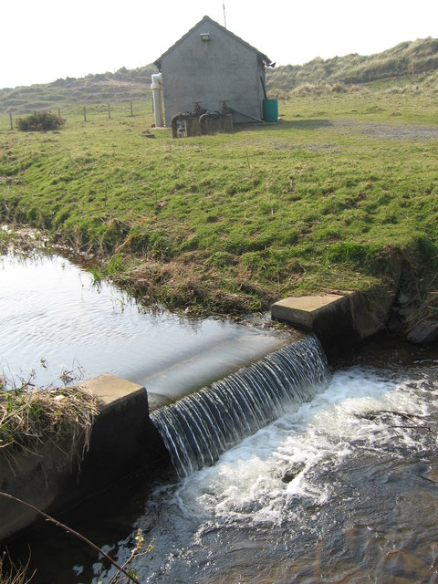 Weir and Pumping Station