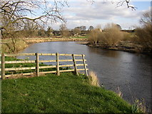 SE2646 : The River Wharfe, Castley by Humphrey Bolton