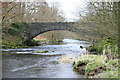 NY3603 : Brathay Bridge looking down river by Steph Aitchison