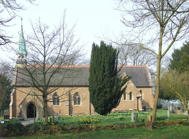 The Church of the Holy Innocents, Tuckhill, Shropshire