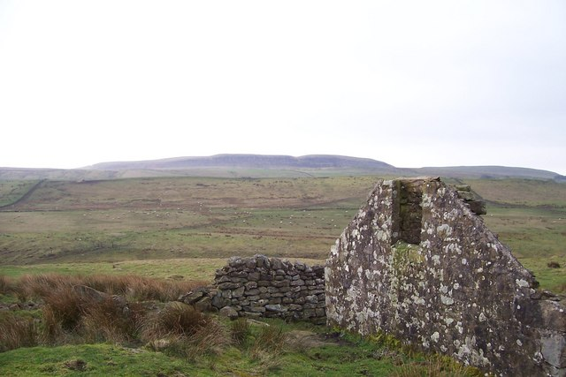 Ruin at Swallow crags