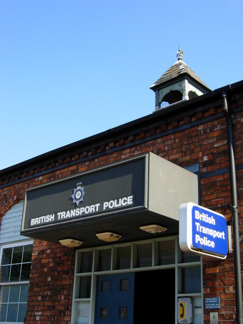British Transport Police Building On 169 Crewe Blog Cc By