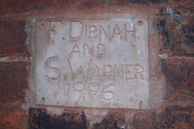 F Dibnah plaque, Barrow bridge chimney
