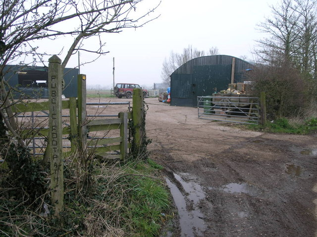 Footpath and Farm