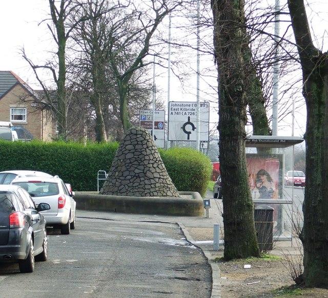 Cairn on Renfrew Road