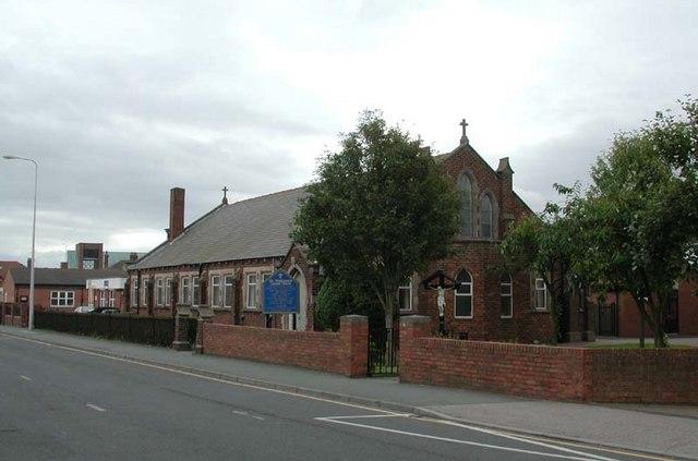 St Wulstan, Fleetwood - This was the original church