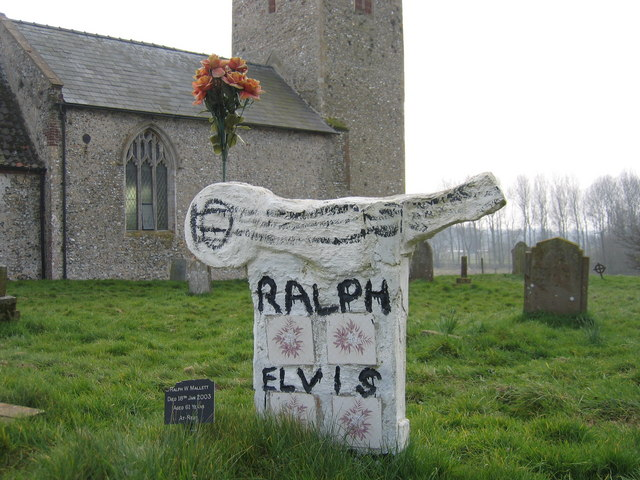 Headstone,  All Saints', Tattersett