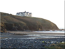 SW6619 : Poldhu Cove and Point by Jonathan Billinger