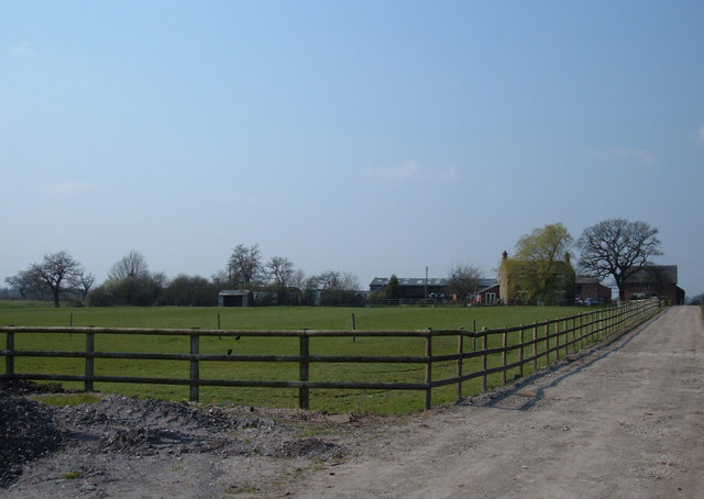 Drakelow  Hall Farm, Byley
