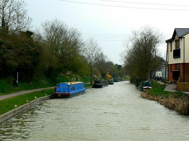 Kennet and Avon canal, near Northgate Street bridge, Devizes