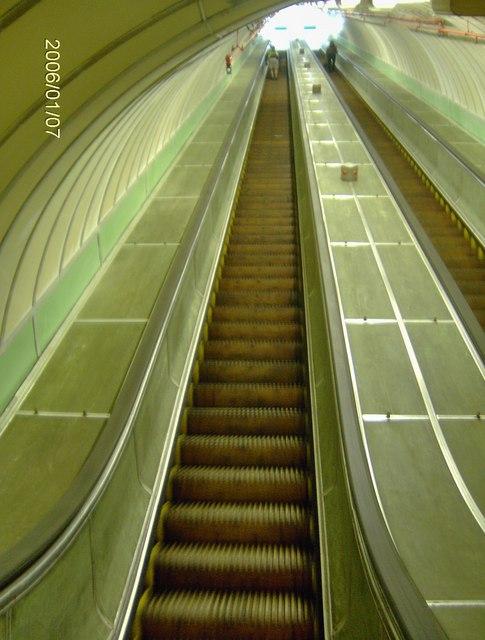 Tyne Tunnel Pedestrian Escalator