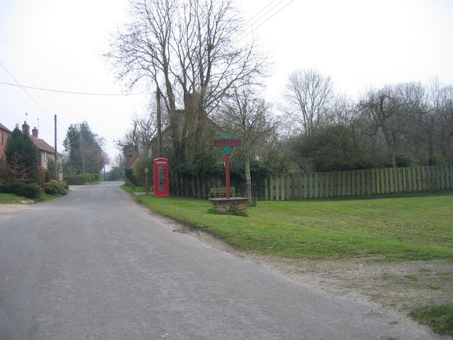 Tattersett village centre and sign