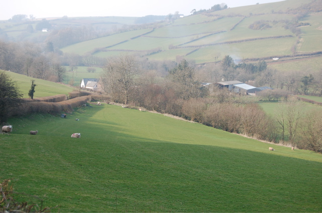 Usk valley scene