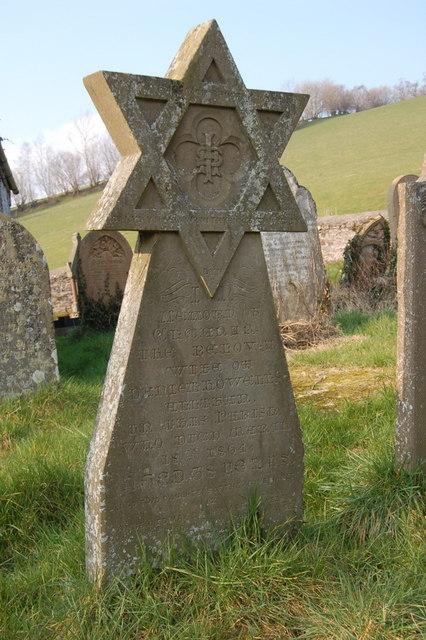 Unusual gravestone