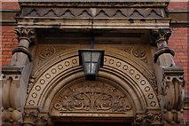 J3373 : Bryson House, Belfast (detail) by Albert Bridge