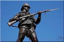 J3373 : Anglo-Boer war memorial, Belfast by Albert Bridge
