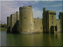 TQ7825 : Bodiam Castle by Tom Doggett