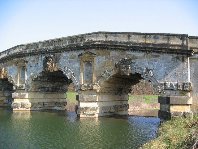 Bridge At Castle Howard