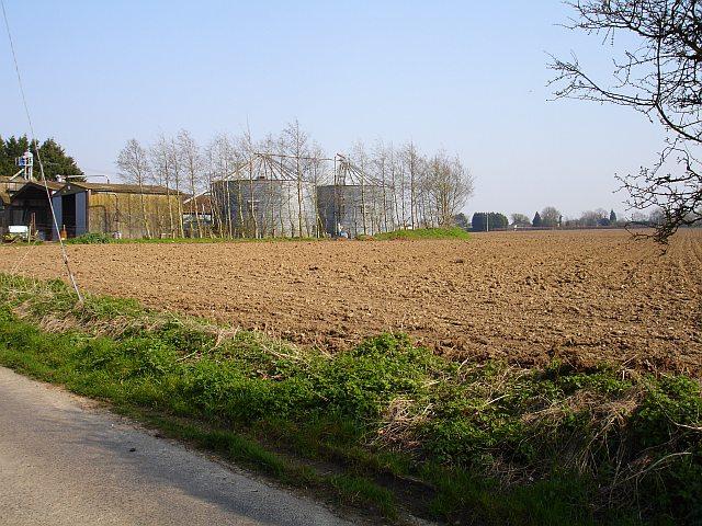 Grain silos, Shottenden Road